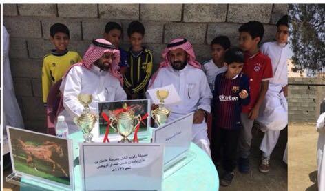 ركوب الخيل: بادرة مدرسة عثمان بن عفان ببالجرشي
