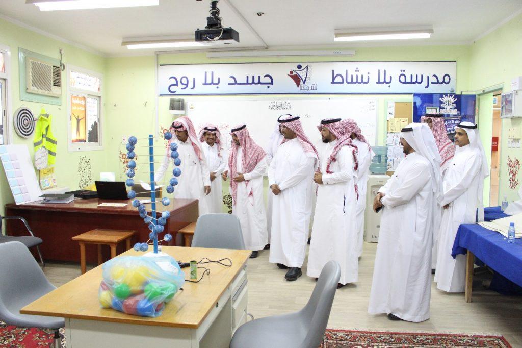 وكيل وزارة التعليم يزور ثانوية عمرو بن العاص بالشرافاء
