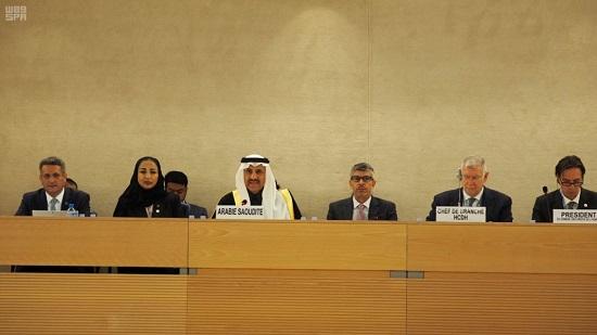 العيبان: المملكة ماضية في تعزيز وحماية حقوق الإنسان وتحقيق التنمية المستدامة