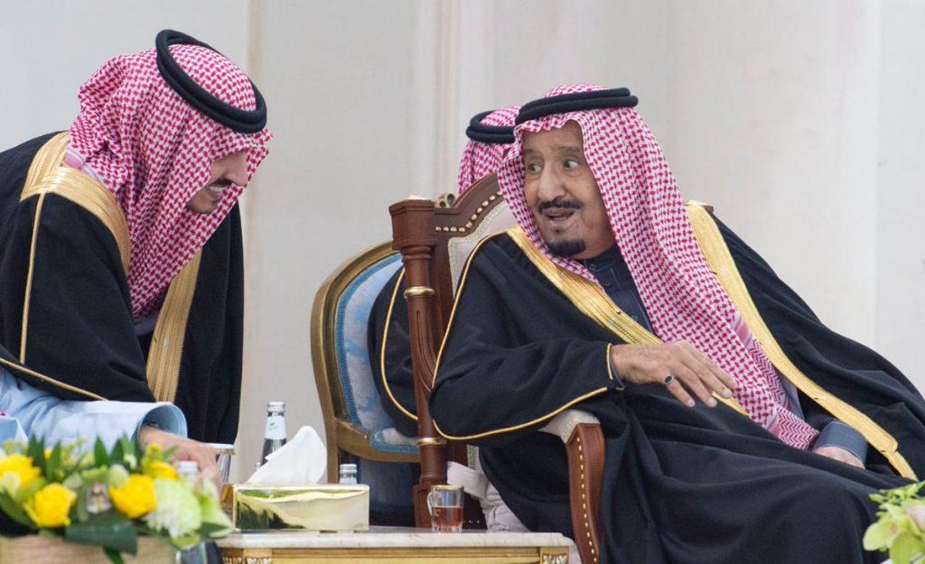 خادم الحرمين الشريفين يشرف حفل أهالي منطقة الجوف ويكرم المتميزين