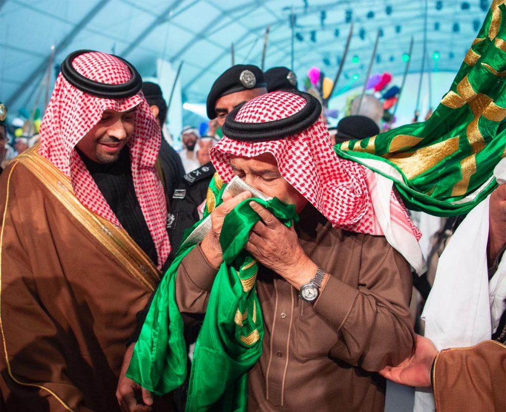 خادم الحرمين الشريفين يشرف حفل أهالي الحدود الشمالية