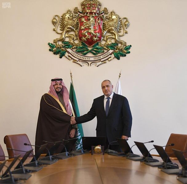 رئيس وزراء بلغاريا يلتقي الأمير تركي بن محمد بن فهد