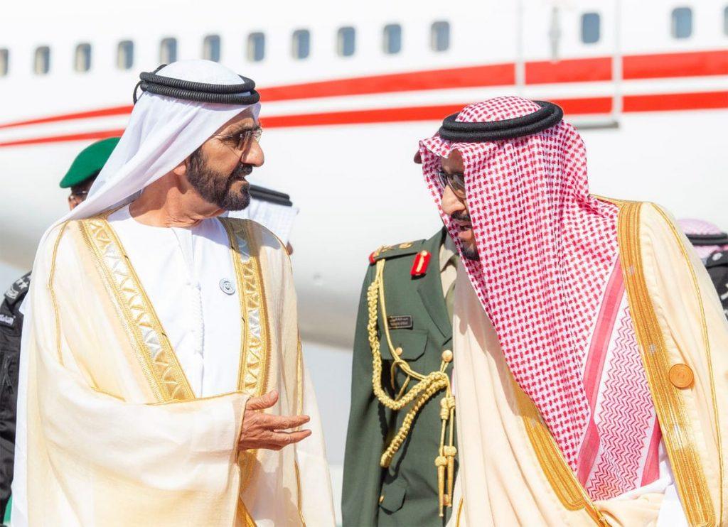 خادم الحرمين الشريفين يستقبل رؤساء وفود دول مجلس التعاون الخليجي
