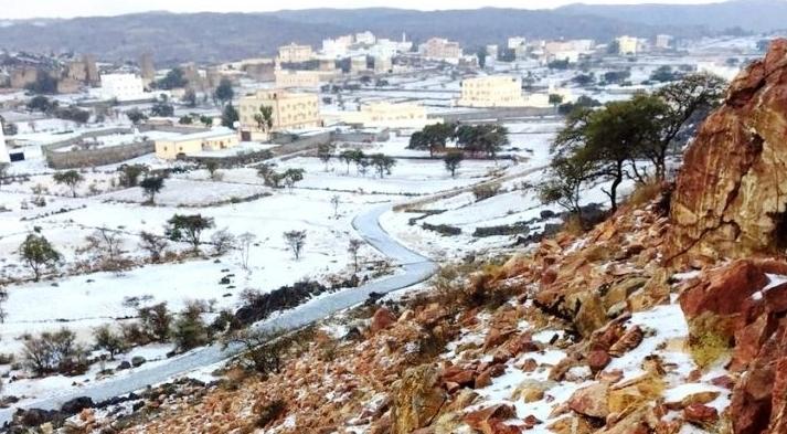 انخفاض درجات الحرارة على معظم مناطق المملكة
