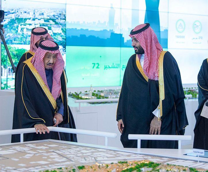 خادم الحرمين الشريفين يطلق 4 مشاريع نوعية كبرى في الرياض بتكلفة 86 مليار ريال