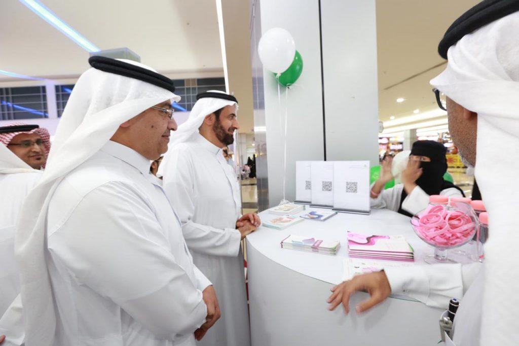 خاصة بصحة المرأة والطفلد. الربيعة يُدشن عيادات التجمع الصحي الأول جنوب الرياض