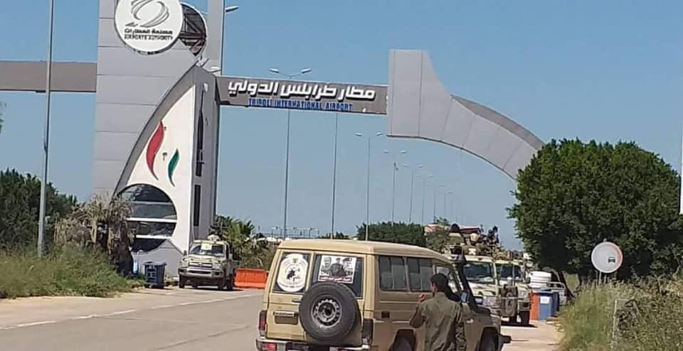 الجيش الليبي يسيطر على مطار طرابلس بشكل كامل