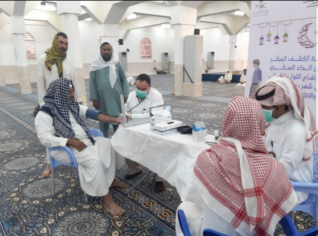 """""""صحة الرياض""""تواصل فعاليات لنمشي في رمضان ٢"""