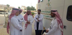 الشيحة يدشن أول عربة متخصصة بالكشف الميداني للمخدرات والمؤثرات العقلية