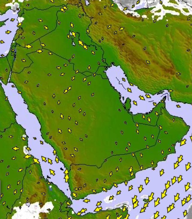 تراجع الكتلة الباردة على معظم مناطق المملكة