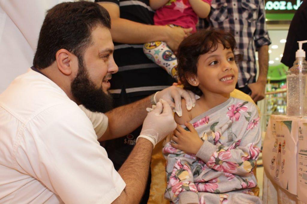 القطاع الصحي الشرقي يطلق حملة التطعيم  ضد الإنفلونزا الموسمية