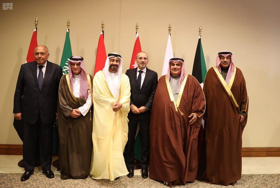 وزراء خارجية الرباعية والكويت والأردن يبحثون سبل إنهاء أزمات المنطقة