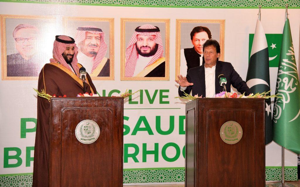 خان: وصف الأمير محمد بن سلمان نفسه سفيرا لبلادي في المملكة مصدر فخر لكل باكستاني