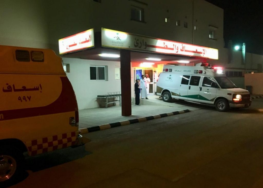 صحة الرياض تستنفر طاقاتها لمباشرة علاج نحو ٢٤ مصابا في حادث سير
