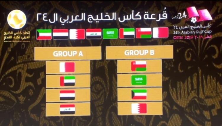 الأخضر السعودي في المجموعة الثانية في خليجي24